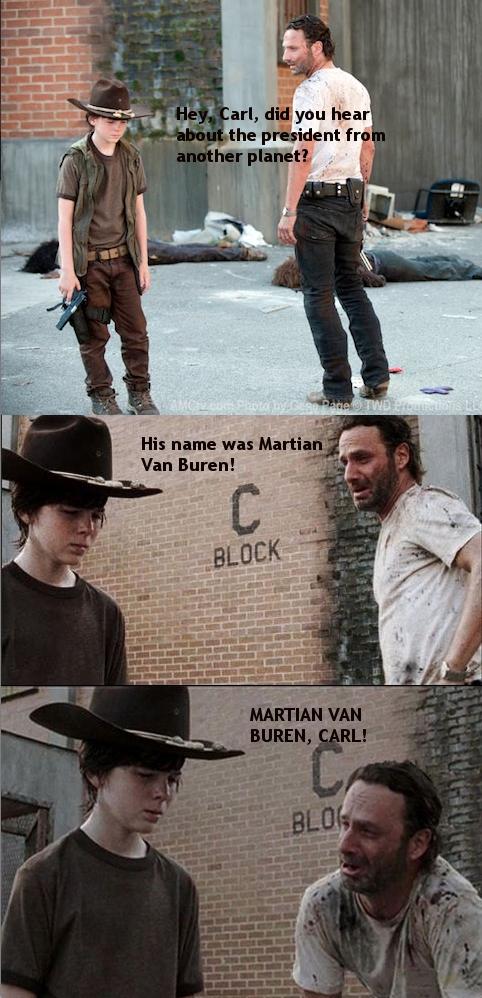Rick Grimes Dad Joke